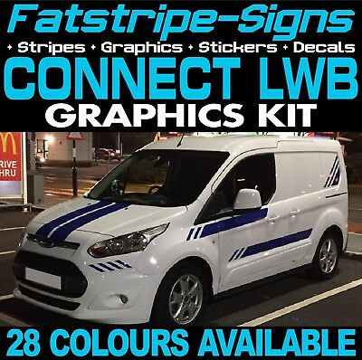 Ford Transit Connect Lwb Graphics Stickers Stripes Decals Van St M Sport