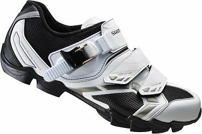 White Womens Shimano MTB Road Clip In Shoes SH-WM63W SPD - SRP £84.99