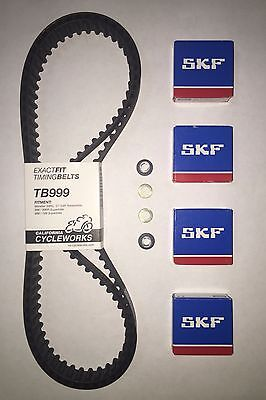 TB999 Exactfit Ducati Timing Belts & Tensioner Bearings 749 999 998 996R S4RS