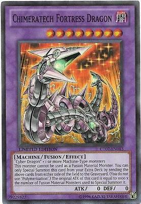 Yu-Gi-Oh! Chimeratech Fortress Dragon Super Rare Limited CT07-EN013