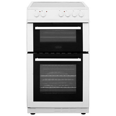 Belling FS50EDOC Free Standing Electric Cooker with Ceramic Hob 50cm White New