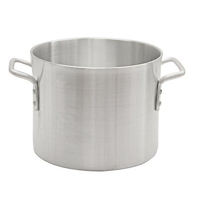 "Thunder Group 24 Qt Aluminum Stock Pot ALSKSP005 STOCK POT 15.5"" x 12.6"" x 11.5"""
