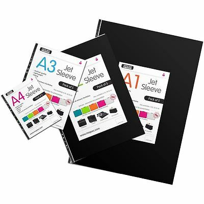 Mapac Jet Sleeve Pack A2 5 Pack For Portfolio Cases Folders Display Book Storage
