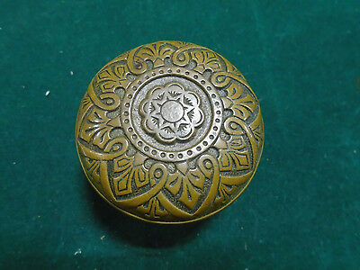 1874 BRONZE R & E 8 FOLD SYMMETRY KNOB by W. GORMAN K-104   (4770-A)