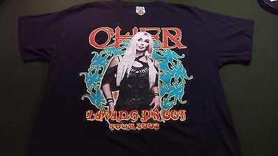 2002 Cher Concert T Shirt XL Living Proof