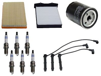 Tune Up Kit Spark Plugs Wire Set Filters FIT Mini Cooper 2002-2008