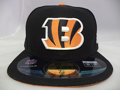New Era Cincinnati Bengals Fitted Cap-BENGALS-005
