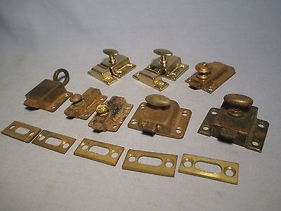 Lot of Vintage Spring Loaded Latches & Catches /    JA 168