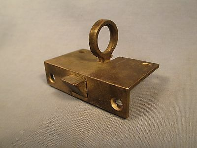 Antique Recessed Springloaded Window or Transom Latch /    JA 172