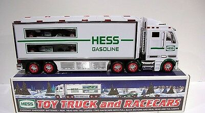 HESS  2003 Toy Truck And racer cars Vehicle-New In Box