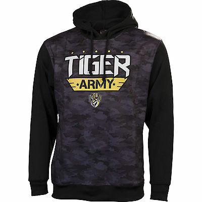 AFL Richmond Tigers Mens Camo Hoodie Jumper , sizes S M L 3XL