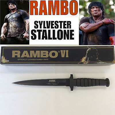 New Rambo 6 SYLVESTER STALLONE First Blood Part VI Signature Knife