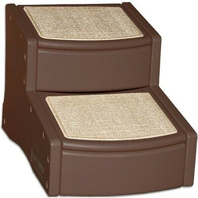 Pet Gear Easy Step II Pet Stairs-Chocolate PG9720CH Dog Steps NEW