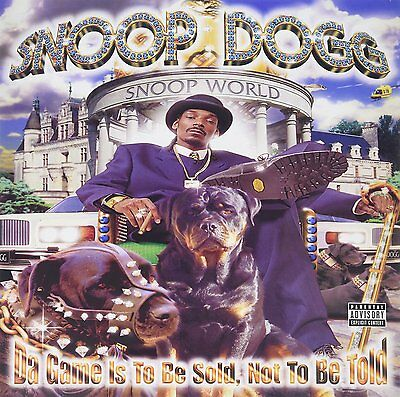 Snoop Dogg - Da Games Is To Be Sold Not To Be Told - Vinyl 2Lp Lp - New