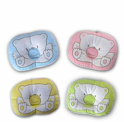 Cute Newborn Baby Infant Pillow Cushion Sleep Positioner Prevent Flat Head  O#