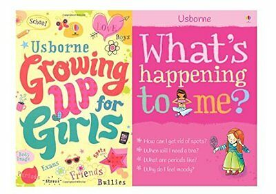 Whats Happening to Me, Growing Up for Girls Collection 2 Books Set Stress, Spots