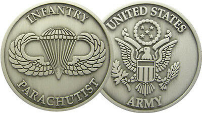 U.S INFANTRY PARATROOPS (Monnaie Commemorative)