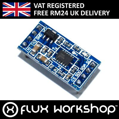 MMA7455 3 Axis Acceleration Module 10-bit I2C Flux Workshop