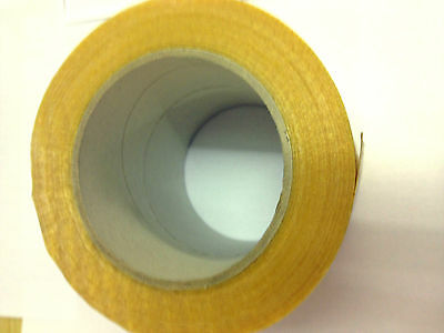 Glass Fibre  Cross Weave Reinforced Filament Tape 100mm x 50m x 1 roll
