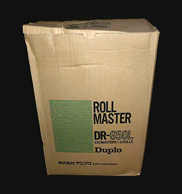DUPLO DR-650L 220 MASTERS X1 ROLL NEW GENUINE DP-4030 DP-43 Series