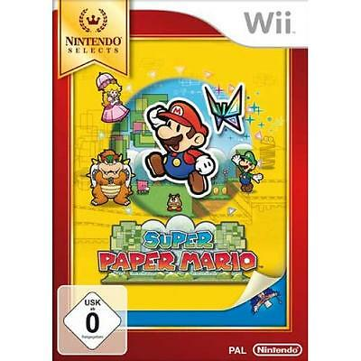 Nintendo Wii Super Paper Mario - Selects New