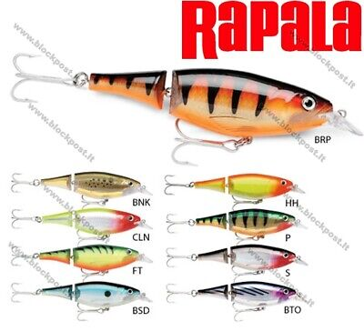 Rapala X-Rap Jointed Shad Fishing Lures 13cm/46g. Lots of different colors.XJS13
