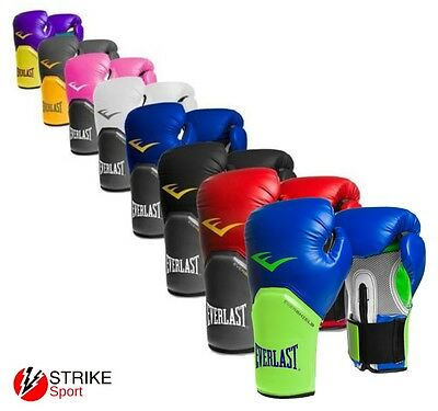 Everlast Pro Style Elite Training Boxing Gloves Sparring Bag Pad Work Mitts