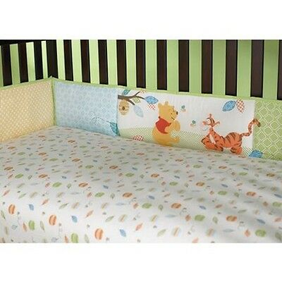 WINNIE THE POOH Authentic Disney Baby Boy Cot Bumper 23cm x 401cm BRAND NEW