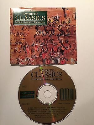 London Symphony Orchestra Favorite Classics Music CD