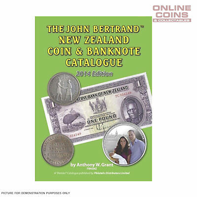 2014 Edition - The John Bertrand New Zealand Coin and Banknote Catalogue