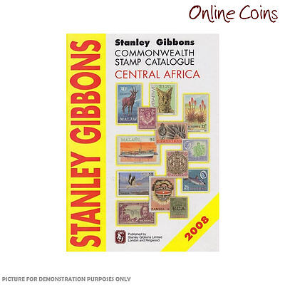 Stanley Gibbons Commonwealth Stamp Catalogue Central Africa 2008