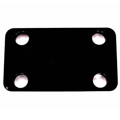 """Trailer Tow Bar 2"""" Drop Plate 10.0 mm Thick 90mm Ctrs 16.5mm Dia Bolt Holes"""