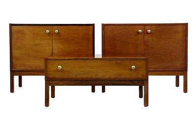 COLLECTION OF 3 PIECES OF 1970's DANISH ROSEWOOD CABINET FURNITURE