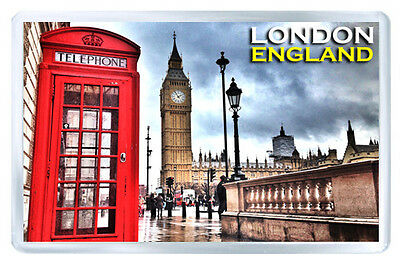 London England Mod4 Fridge Magnet Souvenir Iman Nevera