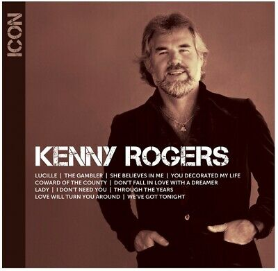 Kenny Rogers - Icon (CD) • NEW • Best of, Greatest Hits, The Gambler, Lady