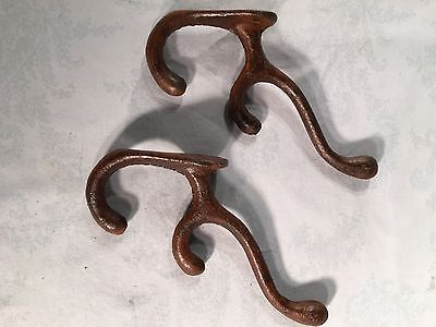 Vintage Cast-Iron Coat Hangers FREE SHIPPING