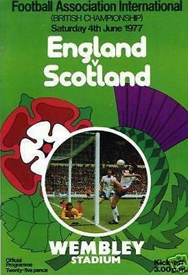 ENGLAND v SCOTLAND 1977 (FAMOUS PITCH INVASION GAME)