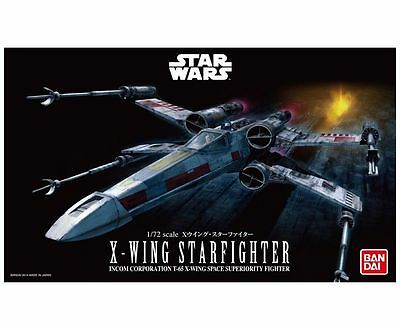Bandai Star Wars X-Wing Star Fighter (Starfighter) 1/72 scale kit