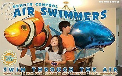 Air Swimmers Remote Control Flying Shark & Clownfish Official Bundle (BRAND NEW)