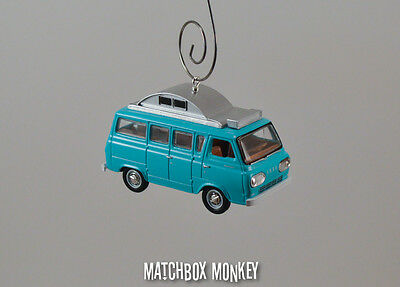 1965 Ford Econoline Camper Van Custom Christmas Ornament RV Class A C 1:64 Scale