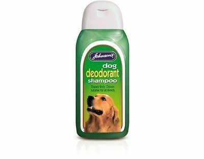 Johnsons dog deodrant shampoo 125ml - dogs. Posted Today If Paid Before 1pm