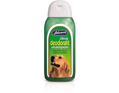 Johnsons dog deodrant shampoo 200ml - dogs. Posted Today If Paid Before 1pm