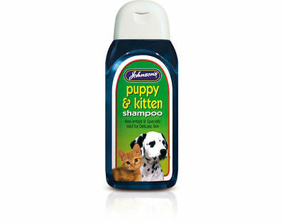 Johnsons Puppy and kitten shampoo 200ml - dogs. Posted Today If Paid Before 1pm