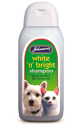 Johnsons white n bright Shampoo 125ml - dogs. Posted Today If Paid Before 1pm