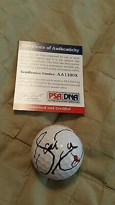 Jason Day (HIS) signed golf ball autograph 2015 PGA Championship winner PSA/DNA