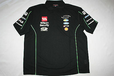 Dick Johnson Racing DJR Wilson Security Mens Polo Shirt S-6XL