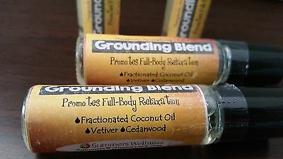 GROUNDING BLEND Yoga / Meditation Blend- Aromatherapy Essential Oil Roller