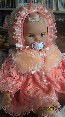 Big doll 65 cm, Germany, vinyl, toddlers, excellent condition