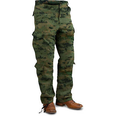 "Rothco Vintage Paratrooper Fatigue Pants Woodland Digital Large (35""-39"")"