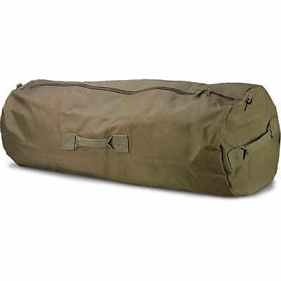 "032d82d06ea 42"" X 25"" Green Texsport Zippered Canvas Duffle Bag -  22.75   PicClick"